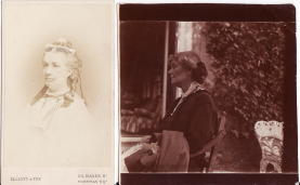 Mary Hamilton and Kittie