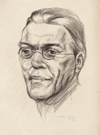 Percy Lubbock sketch by Adrian Graham